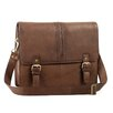Aston Leather Messenger Bag