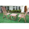 Unique Arts Madison 3 Piece Bistro Set