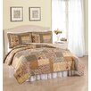 American Traditions Heather Coverlet Set