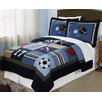 My World All State Quilt Set in Blue