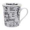 R Squared Disney Sketchbook 14 oz. Donald Mug (Set of 4)