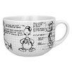 R Squared Disney Donald Sketchbook Soup Mug (Set of 4)