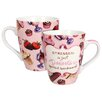 "R Squared Bonnie Marcus ""Desserts Backward"" Mug (Set of 4)"