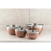 Cook Pro 4 Piece Stainless Steel Mixing Bowl Set (Set of 4)