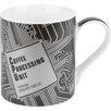 Konitz 12 oz. High Tech Coffee Processing Unit Mug (Set of 4)