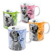 Konitz Assorted Movie Dog 15 oz. Mugs 4 Piece Set