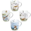 Konitz Assorted Guess How Much I Love you Collection 12 oz Mugs 4 Piece Set