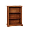 """Bolton Furniture Cambridge 60""""H Wood Bookcase with Two Adjustable Shelves"""