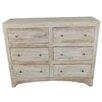 MOTI Furniture 6 Drawer Dresser
