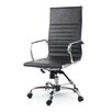 Winport Industries High-Back Leather Swivel Executive Chair