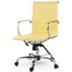 Winport Industries Mid-Back Eco-Leather Executive Swivel Office Chair with Arms (Set of 20)