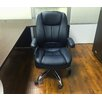 Winport Industries Winport Pleated Mid-Back Leather Conference Chair