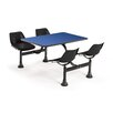 """OFM 30"""" x 48"""" Group/Cluster Table and Chairs with Laminate Tops"""