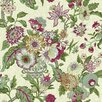 "York Wallcoverings Waverly Global Chic 33' x 20.5"" Floral and Botanical Roll Wallpaper"