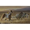 York Wallcoverings Mural Portfolio II Desert Horse, Sage Plains Grasses and Foothill Mountains Wall Mural