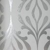 """York Wallcoverings Candice Olson Inspired Elegance 33' x 20.5"""" Abstract Foiled Wallpaper"""