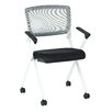 Office Star Products SPACE Mid Back Mesh Task Chair (Set of 2)