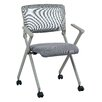 Office Star Products Work Smart Folding Chair (Set of 2)