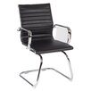 Office Star Products Work Smart Mid-Back Conference Chair with Arms