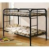 Powell Furniture Twin Over Twin Bunk Bed with Ladder