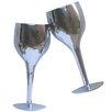 Katigi Designs Toasting Wine Glasses Embossed Art