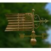 Good Directions American Flag Weathervane