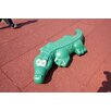 Little Tikes Commercial Gator Walk in Ground Sculpture