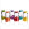 Style Setter 16 oz. Jar with Lid (Set of 6)