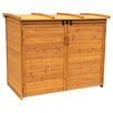 Leisure Season Horizontal Refuge 6 Ft. W x 3 Ft. D Wood Storage Shed
