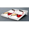 Victory Tailgate Red and White Wine Themed Cornhole Game Set