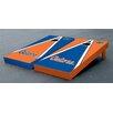 Victory Tailgate NCAA Florida Gators Alternating Triangle Script Version Cornhole Game Set