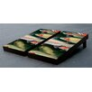 Victory Tailgate Trout Fish Themed Cornhole Game Set
