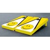 Victory Tailgate Smiley Face Triangle Cornhole Bean Bag Toss Game