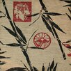 Elite Products Modern Loft Bamboo Islander Designer Print Slipcover