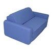 Elite Products Royal Blue Children's Foam Sleeper Sofa
