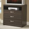 Lang Furniture No Da 3 Drawer Media Chest