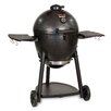 "Char-Griller 45.2"" Akorn Kamado Charcoal Grill with Metal Side Shelves"