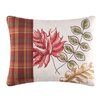 C & F Enterprises Fall Leaves Embroidered Cotton Lumbar Pillow