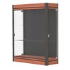 Waddell Contempo Series Lighted Wall Display Case
