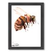 Americanflat Bee 5 Framed Painting Print