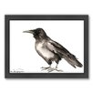 Americanflat Crow 4 Framed Painting Print