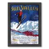 Americanflat Sun Valley Framed Graphic Art