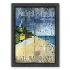 Americanflat Outer Bank Framed Graphic Art