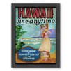 Americanflat Hawai Framed Graphic Art