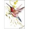 Americanflat Hummingbird 2 by Suren Nersisyan Painting Print