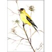 Americanflat Goldfinch 5 by Suren Nersisyan Painting Print