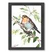 Americanflat Bird by Suren Nersisyan Framed Painting Print