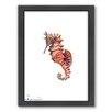 Americanflat Seahorse by Suren Nersisyan Framed Painting Print