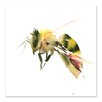 Americanflat Bee #2 Square Graphic Art