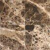 MS International 6'' x 6'' Marble Field Tile in Emperador Dark
